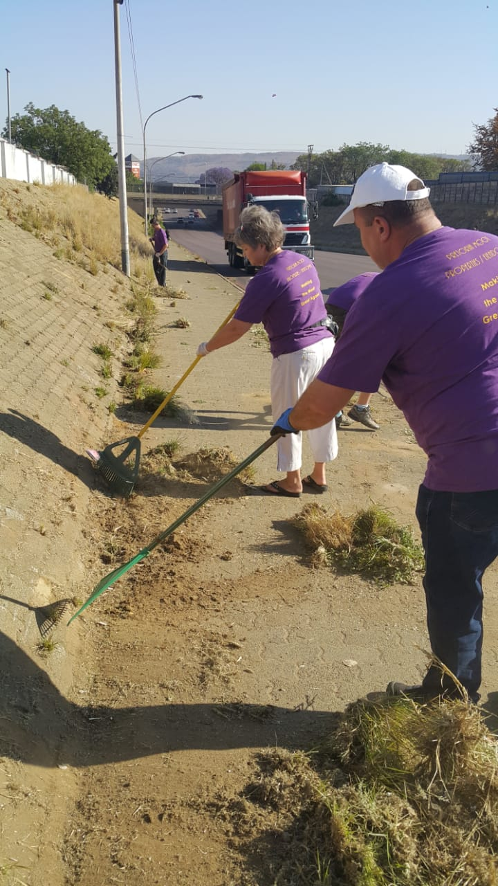 Join Pretoria moot Properties in cleaning up our area